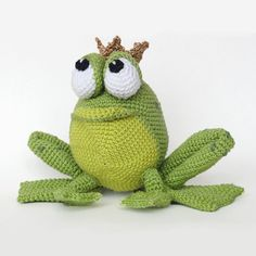 Henri le frog - Amigurumipatterns.net