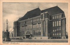 Crowel, J. Jr. - Hoofdpostkantoor, Utrecht (Main Post Office, Utrecht), Netherlands, 1924