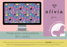 #Descargas #wallpapers #fondosdeescritorio #ilustración #illustration #downloads #ipad #tablet #android #iphone #oliviabags #style #techglam