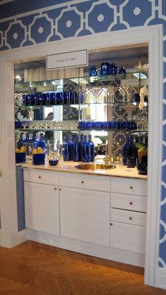 Wet Bar Glass Shelving Custom Bar Mirror And Glass