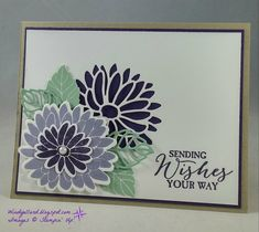 ORDER STAMPIN' UP! ON-LINE! 17 WOW! paper crafting ideas on my blog today. Exclusive Stampin' Up! offers. 1000+ card ideas & daily tips!