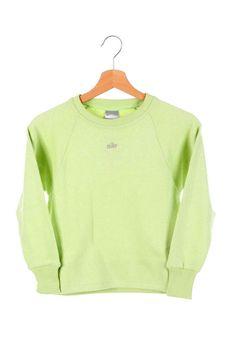 Vintage 90s Nike Swoosh Small Logo Sweatshirt  Green SIze S New with Tags M Photos, Hip Hop Rap, Retro Look, Light Jacket, Vintage Nike, Windbreaker Jacket, Puffer Jackets, Black And Grey, Tags