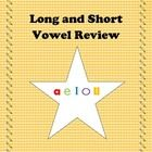 Great review for long and short vowel sounds!