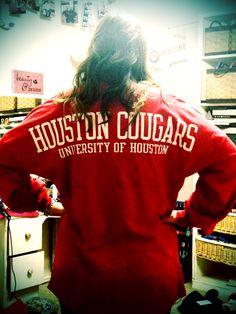 Spirit Jersey: University of Houston #gocoogs