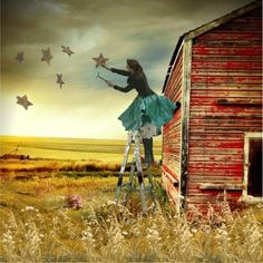 Hang your dreams like stars in the sky & let them guide you...
