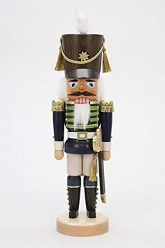 Ulbricht Nutcracker Soldier Blue Glazed Newness 1730 inches ** This is an Amazon Affiliate link. You can get additional details at the image link.