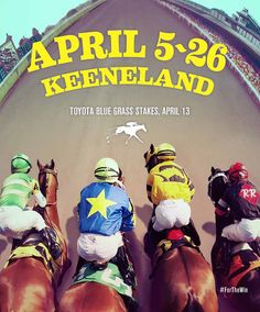 Count down to the 2013 Spring Race Meeting. #FortheWin