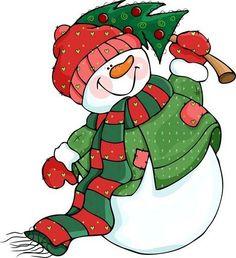 11 Mejores Imagenes De Muneco De Nieve Dibujo Snowman Christmas