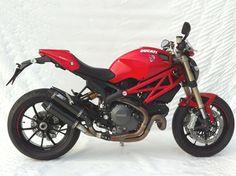 ducati monster 1100 evo   Ducati Monster 1100 Evo Over + Under Zard Exhausts - Pair