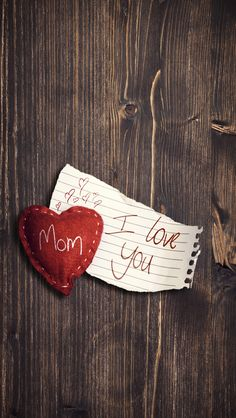 I Love You Mom #iPhone #5s #Wallpaper