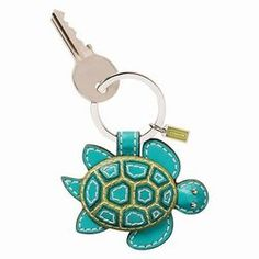 Coach Turtle Keychain- I want this when I get my new car!