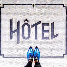 75013 - Rue des Gobelins How about a weekend at the Hotel? by parisianfloors Floor Design, Tile Design, Pattern Design, Floor Art, Tile Floor, Floor Patterns, Mosaic Patterns, Vintage Type, Mosaic Tiles