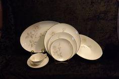 Noritake Melrose Ten 5 Piece Place Settings, Veggie Bowl, and Platter (FREE SHIPPING)