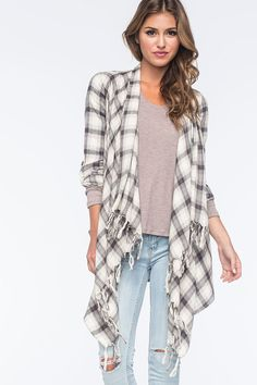 Cowgirl - Flannel Is Our Favorite Layer MARCH STITCH FIX 2016