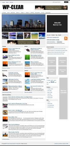 WP-Clear WordPress Magazine Theme