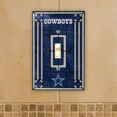 Dallas Cowboys Light Switch
