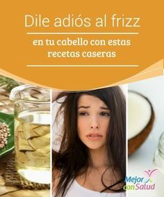 Say goodbye to frizz in your hair with these homemade recipes - Modern Cabello Hair, Curly Girl, Hair Hacks, Hair Tips, Mascara, Your Hair, Something To Do, Hair Care, Beauty Hacks