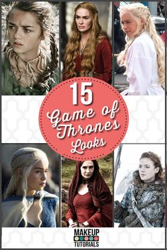 In search for Game of Thrones looks? DIY Hair and Makeup? Check out how you can do this Game of Thrones styles!