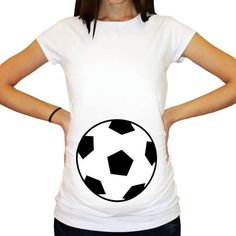 872d56fe4c3c7 Soccer ball Maternity Shirt / Soccer ball Belly / Future Mom To Be / Cute  Soccerball Maternity Shirt / Funny Pregnancy Announcement by SassabratBaby