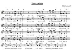 Tisíc andělů Ukulele, Piano, Sheet Music, Preschool, Image, Christmas, Tattos, Pj, Advent