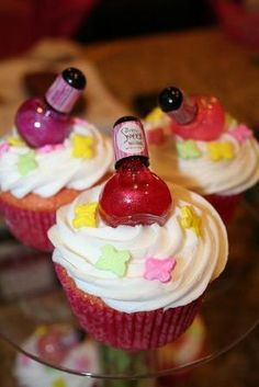 Cute idea for little girls birthday party-party favors by lorrie