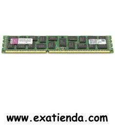 Ya disponible Ddr3 Kingston 4gb/1333 ecc   (por sólo 62.95 € IVA incluído):   -Kingston 4GB 240-Pin DDR3 SDRAM ECC -Registered DDR3 1333 Server Memory Garantía de 24 meses.  http://www.exabyteinformatica.com/tienda/2114-ddr3-kingston-4gb-1333-ecc #memoria #exabyteinformatica