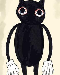 54 Best Cartoon Cat Images In 2020 Cartoon Cat Cartoon Creepy