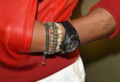 Mancrush Monday: Pharrell Williams's Hat at the Grammys   #ArmCandy details