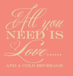 Custom Wedding Koozie All You Need Is Love by ChristineMeahan, $20.00