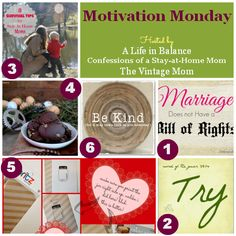 Motivation Monday Linky Party #79 | A Life in Balance