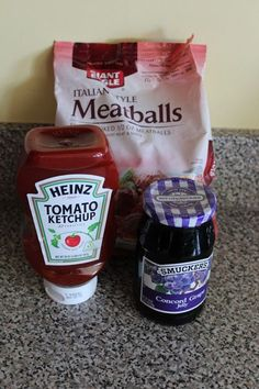 Sweet and Sour Meatballs Recipe-     I like this better with Heinz Chili Sauce instead of ketchup.