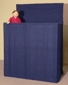 Puppet stage from the v i p puppet co kidzone puppetish stuff pinterest teatro - Teatro marionetas ikea ...