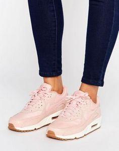 Zapatillas de deporte en rosa Air Max 90 de Nike