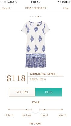 Stylist - PLEASE! If this dress is available, please send it to me! Adrianna Papell - Edyth Dress