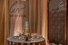 Austin Texas Event, Floral Pinspotting, Cake Pinspotting, Room Wash, Uplighting,  Drapery Lighting,Center piece lighting, Amber, Gold, Liv by Design, ILD Lighting.