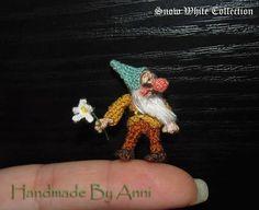 Miniature Bashful dwarf Dollhouse miniature dollhouse by ByAnni
