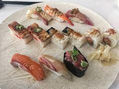 Sushi lunch at Miku Toronto [3264x2448]