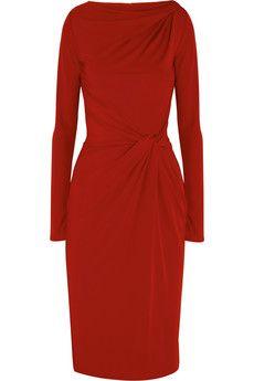 Twisted stretch-jersey dress ($500-5000) - Svpply