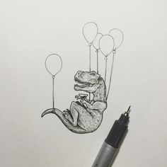 You can also get tips and suggestions for your own bow tattoo designs. - Tattoo Design Ideas - # Bow tattoo designs that Kunst Tattoos, Body Art Tattoos, Tattoo Drawings, Cool Drawings, Drawing Sketches, T Rex Tattoo, Tattoo Art, Tattoo Snake, Dragon Drawings