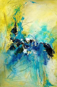 Blog - Atelier - Malschule Mesch Osnabrück Flower Paintings, Abstract Paintings, Abstract Art, Example Of Abstract, Alcohol Ink Art, Mixed Media Art, Interior Decorating, Colours, Artists