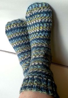 Searching for a knit sock pattern? Looking for easy to follow instructions for knitting socks? Find free instructions to knit your first pair of socks.