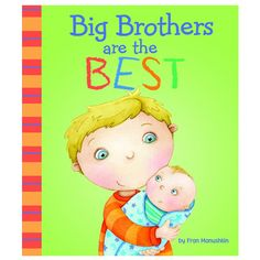 Big Brothers Are The Best by Capstone Press - $6.95