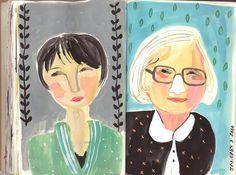 Art Journal } August Wren