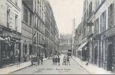 La rue de Nantes vers 1905 (Paris 19ème)