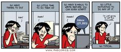 PHD Comics: So Typical, I'm just going to eat chocolate Student Memes, Phd Student, Student Life, Phd Humor, Phd Comics, Science Comics, Thesis Writing, Laugh A Lot, School Humor