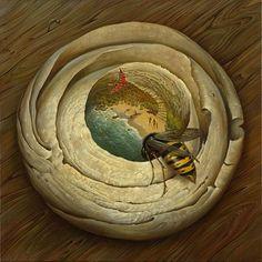 Bees ... Vladimir Kush.