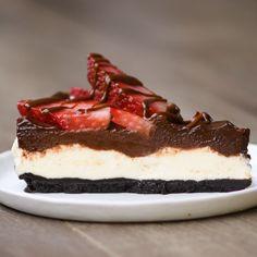 Chocolate Oreo Cheesecake Tart