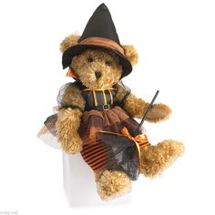 Boyds Bear  * Zelda Witchy-Boo * Halloween Witch Plush 14 Inches New 2014  #Halloween
