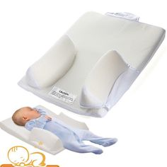 "This is a comfortable support when baby sleeps. Crib wedge feature elevates baby's head to help ease breathing. Patented curved bumpers conform to baby's natural shape when side sleeping. ""Turn Head"" tab encourages caregivers to turn infant's head each night, helping to reduce the risk of flat head syndrome (Positional Plagiocephaly)."