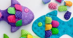 I spent some time today finishing a tutorial and pattern for the Little Fishy Bean Bag/Soft Toy I designed.  The tutorial and pattern have d...
